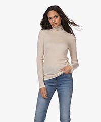 Filippa K Lyocell-Cashmere Turtleneck Sweater - Soft Beige