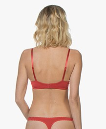 Calvin Klein Seductive Comfort Push-Up BH - Manic Red