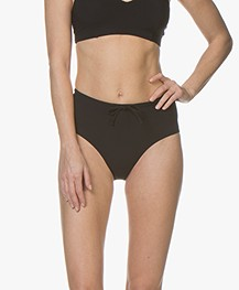 Filippa K Soft Sport High Waist Bikini Bottom - Black