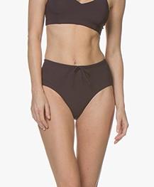 Filippa K Soft Sport High Waist Bikini Bottom - Midnight Purple