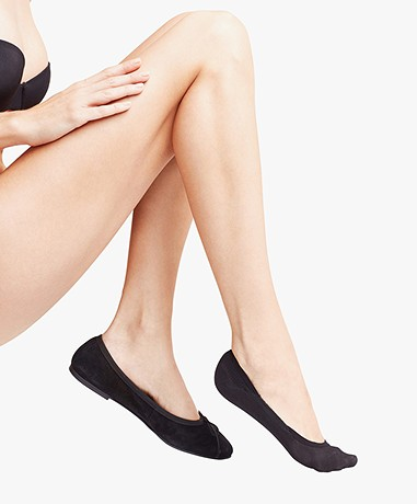 FALKE Cotton Step Sokken - Zwart