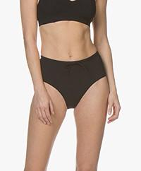 Filippa K Soft Sport High Waist Bikinislip - Zwart