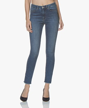 BOSS J11 Murietta High-rise Skinny Jeans - Bright Blue