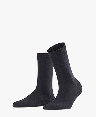 FALKE Softmerino Socks - Dark Navy