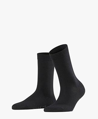 FALKE Softmerino Sokken - Zwart