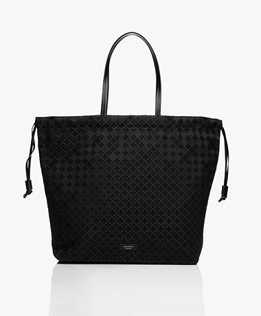 By Malene Birger Carryall Drawstring Shoulder Bag - Black