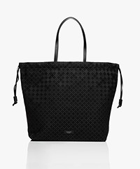 By Malene Birger Carryall Drawstring Schoudertas - Zwart