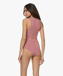 Rag & Bone The Tank Bodysuit - Pale Rose