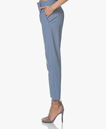 babb87f25cc Drykorn Find Taps Toelopende Wolmix Pantalon - Blauw - find 34 | 113610