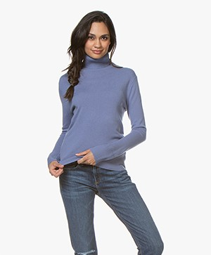 Filippa K Cashmere Roller Neck Sweater - Lavendel
