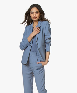 Drykorn Golders Tailored Blazer - Blue