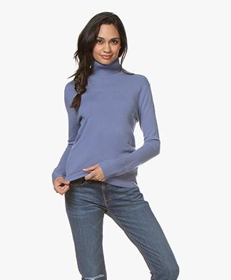 Filippa K Cashmere Roller Neck Sweater - Lavender