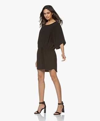IRO Arbutus Drawstring Dress - Black