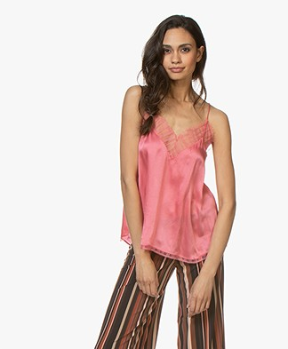 IRO Berwyn Silk Camisole - Pink