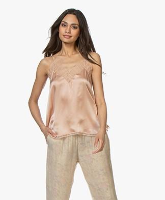 IRO Berwyn Silk Camisole - Nude