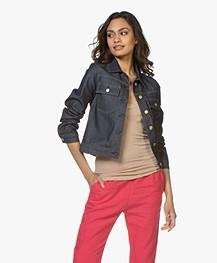 Filippa K Suzy Raw Denim Jacket - Donkerblauw