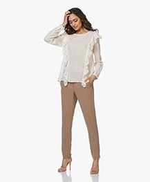Pomandère Linen Blend Pants - Curcuma