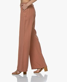 BY-BAR Elin Tencel Wide Leg Pants - Copper