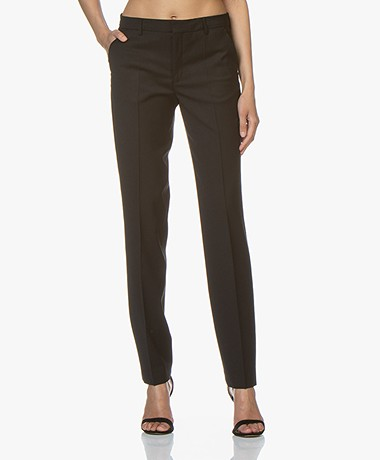Filippa K Nicky Cool Wool Pants - Black