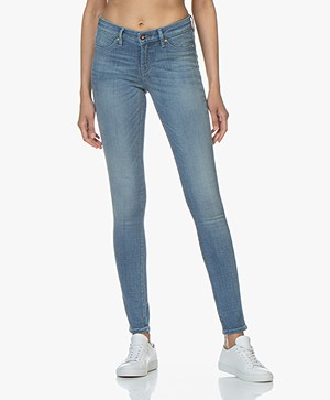 Denham Spray Super Tight Fit Jeans - Lichtblauw