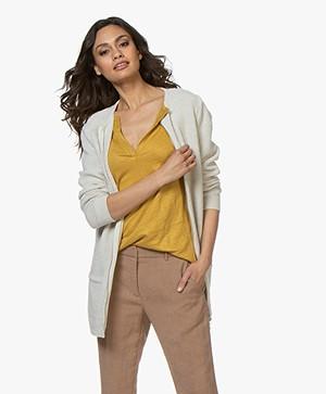 Sibin/Linnebjerg Futani Knitted Zip Cardigan - Kit