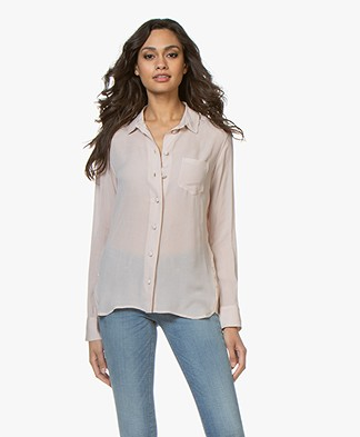 Denham Adventure Viscose Gauze Blouse - Hushed Violet