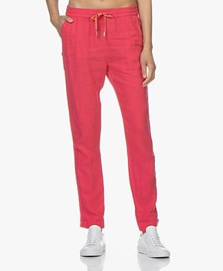 Josephine & Co Cairo Linen Pants - Fuchsia
