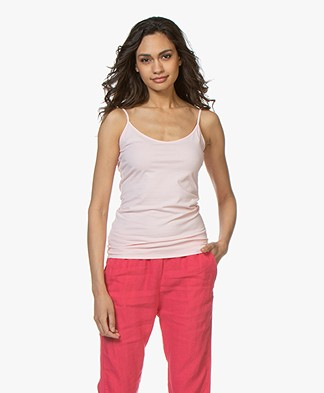 Josephine & Co Carlijn Jersey Spaghetti Strap Top - Light Pink