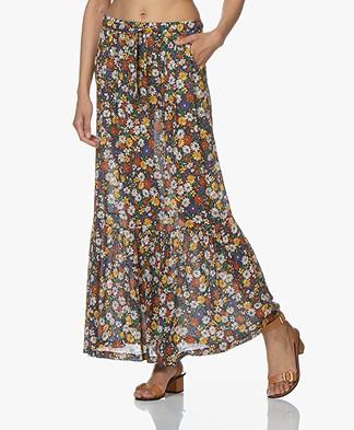 La Petite Française Jasper Maxi Skirt with Print - Liberty