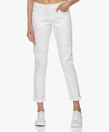Denham Monroe Girlfriend Fit Jeans - Wit