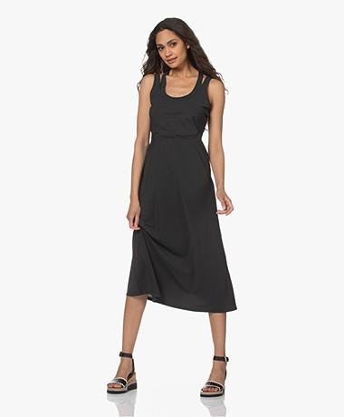 no man's land Tech Jersey Dress - Slate