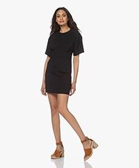 Rag & Bone Lilith Organic Cotton Jersey Dress - Black