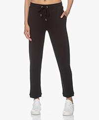 JapanTKY Hintage Tencel Blend Sweatpants - Deep Black