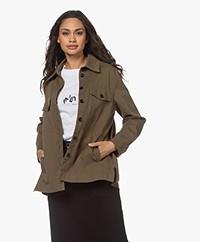 Drykorn Nathen BCI Cotton Jacket - Army