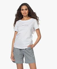 Plein Publique La Cerise Logo T-shirt - Wit