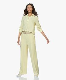 Filippa K Long Crepe Shirt - Wax