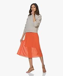 Filippa K Soft R-Neck Sweater - Beige Melange