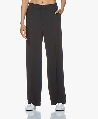 Filippa K Hutton Crepe Pantalon - Navy