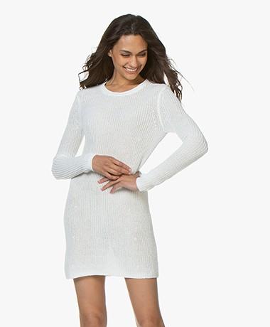 Filippa K Knitted Jurk - Off-white