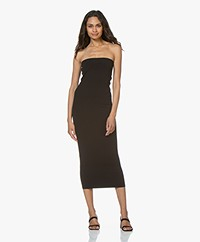 FALKE Tube Strapless Microfiber Jersey Dress - Black