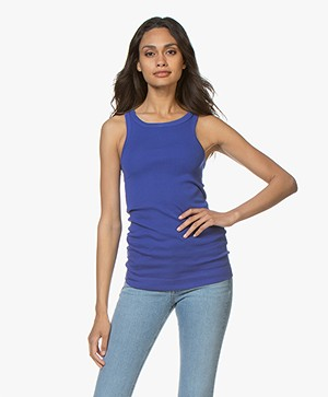 By Malene Birger Amiee Tank Top - Clematis Blue
