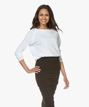 American Vintage Sweater Sonoma - Wit