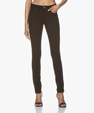 Joseph Cloud Gabardine Stretch Pants - Black