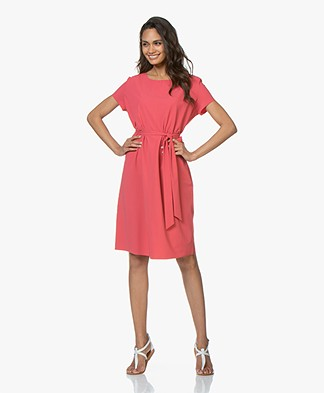 JapanTKY Moy Travel Jersey Dress - Geranio
