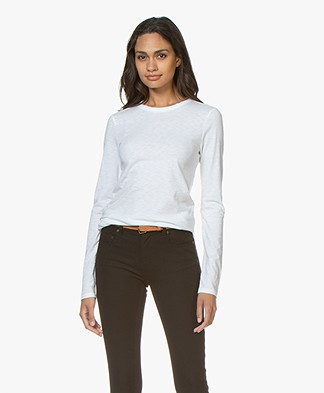 Rag & Bone Pure Cotton Longsleeve- Bright White