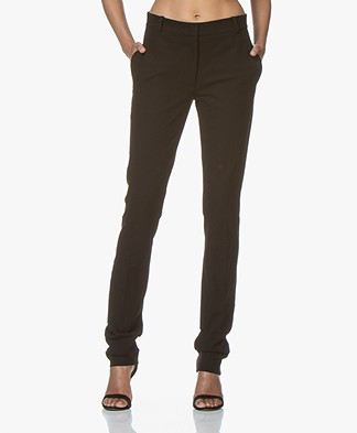 Joseph Zoran Gabardine Stretch Pants - Black