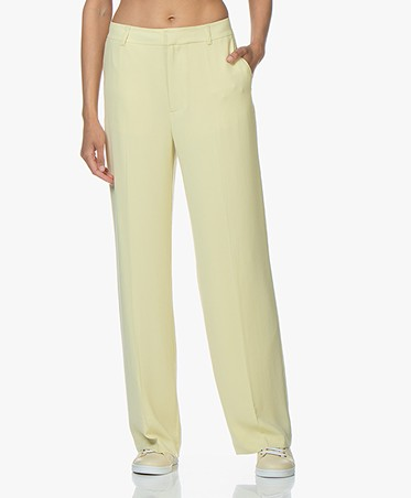 Filippa K Hutton Crepe Pants - Wax