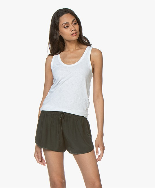 b5928e4351a43e Rag & Bone Cotton Tank Top - Bright White - w272c33ch | the tank bright