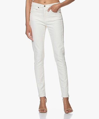 by-bar Mette Stretch-katoenen Jeans - Off-white