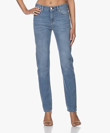 Filippa K Taylor Washed Jeans - Mid Blue